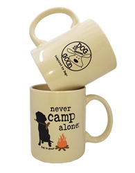 Never Camp Alone 4 pk mug set