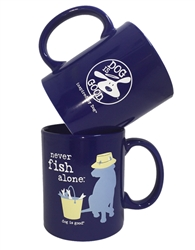 Never Fish Alone 4 pk mug set