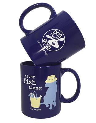 Never Fish Alone 4 pk mug set