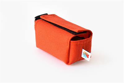 Orange No-Dangle Poop Bag Dispenser