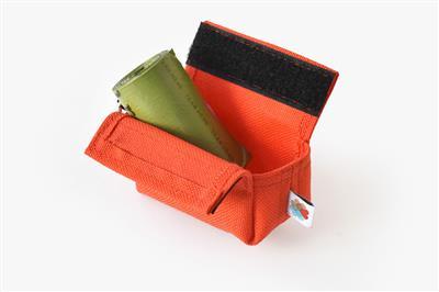 Orange No-Dangle Poop Bag Dispenser