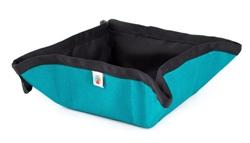 Turquoise Pocket Sized To-Go Bowl