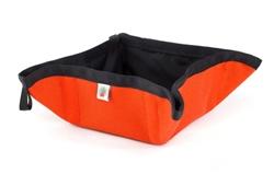 Orange Pocket Sized To-Go Bowl