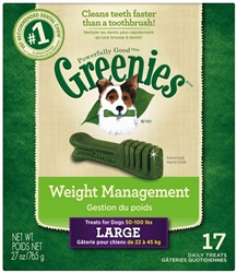 Greenies Weight Management Treat Tub Pak - 27oz