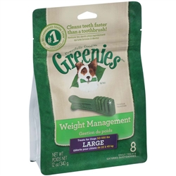 Greenies Weight Management Treat Pak - 12oz