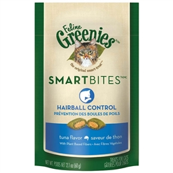 Greenies Smartbites Hairball Control Tuna for Cats