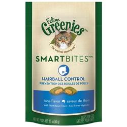Greenies Smartbites Hairball Control Tuna for Cats