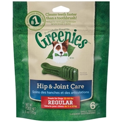 Greenies Hip & Joint Care Canine Dental Chews - 6oz