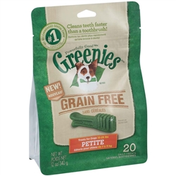 Greenies Grain Free Treat Pak - 12oz