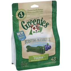 Greenies Blueberry Treat Pak - 12oz