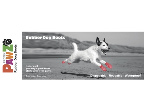 PawZ Dog Boots In-line Display Pack - with Header Card (31 Pc)