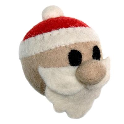 Wooly Wonkz Holiday Toy Santa