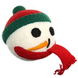 Wooly Wonkz Holiday Toy Frosty
