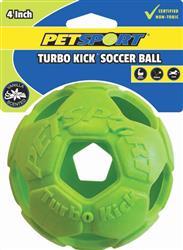 "Turbo Kick Soccer Ball Assorted 4"""
