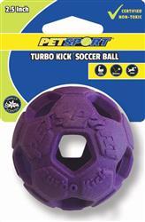 "Turbo Kick Soccer Ball Asstd 2.5"""