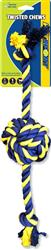 Twisted Chews-Large Braided Cotton Rope Knot Ball 18""