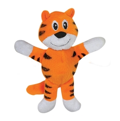 Tender-Tuffs Tiny - Orange Tiger - Small Breed Toy