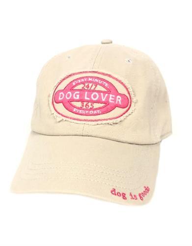 Hat: Dog Lover 24-7/365