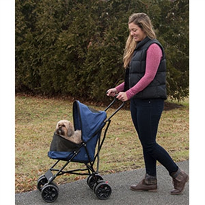 Travel Lite Pet Stroller - Navy