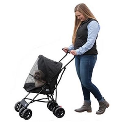 Travel Lite Pet Stroller - Black