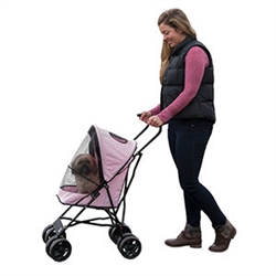 Travel Lite Pet Stroller - Pink