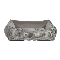 Scoop Bed Cafe au Lait (Pebble Microvelvet Inner)