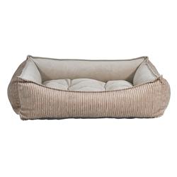 Scoop Bed Wheat Microcord (Hazelnut Inner)