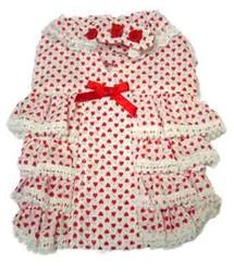 Heart Frill Dress