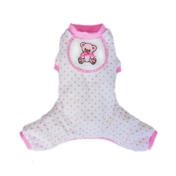 Teddy Pajamas  - Pink