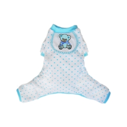 Teddy Pajamas  - Blue