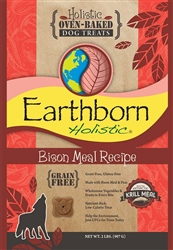 Bison Recipe Oven Baked Biscuits Grain Free, 2lbs