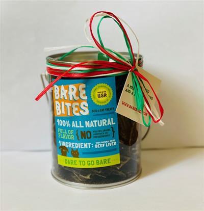 Holiday Bare Bites 6 oz Tin