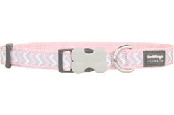 Pink Reflective Ziggy - Dog Collars, Leads, and Harnesses