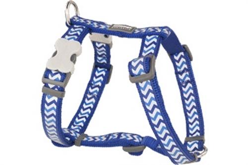 Dark Blue Reflective Ziggy - Dog Collars, Leads, and Harnesses