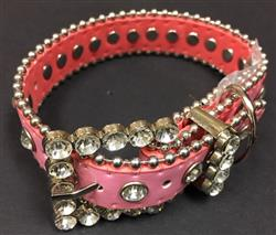 Bling Dog Collar - PINK