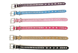 Bling Dog Collar - BLACK