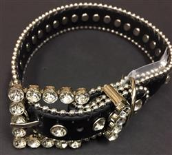Bling Dog Collar - BLACK