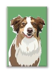 Aussy Cattle Dog Fridge Magnet (NEW)