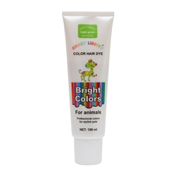 Light Green Permanent Pet Hair Dye by Crazy Liberty