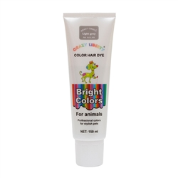Light Grey Permanent Pet Hair Dye by Crazy Liberty