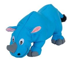 Tender-Tuffs Big Shots - Plump Blue Rhino - Large Breed Toy