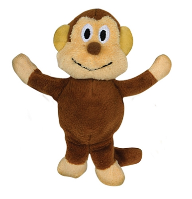 Tender-Tuffs Tiny - Monkey - Small Breed Toy