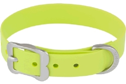 Lime VIVID PVC - Dog Collars and Leashes