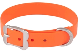 Orange VIVID PVC - Dog Collars and Leashes