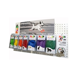 PawZ Dog Boots In-line Display Pack - 21 packs and 6 mini Max Wax