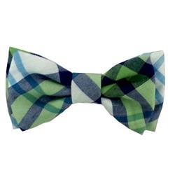 Lime Madras Bow Tie by Huxley & Kent