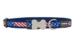 Patriotic US Flag - Dog Collars, Leashes, & Harnesses
