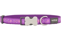 Butterfly Purple - Dog Collars, Leads, and Harnesses