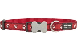 Desert Paws Red - Dog Collars, Leads, and Harnesses