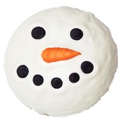 Snowman Ball Granola Dog Treat
